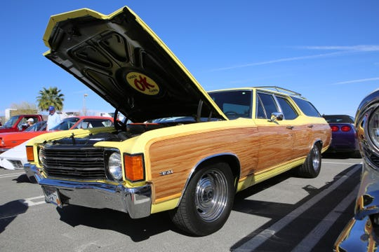 A 1972 Chevrolet Chevelle is at the McCormick's Classic Car Auction in Palm Springs, Calif., on Friday, February 21, 2020.