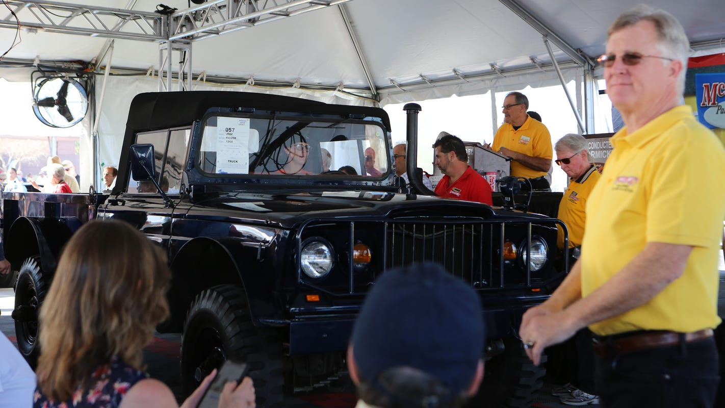 5 cool vehicles we saw at McCormick's Classic Car Auction in Palm Springs