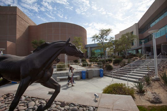 California State University Palm Desert Campus is photographed in late February 2020.
