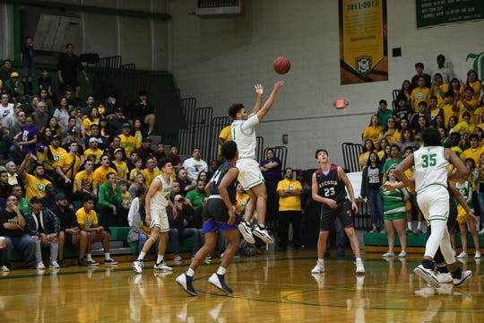 Keiren Brown scored 23 points to help lead St. Mary's to a 4A quarterfinal win over Arcadia.
