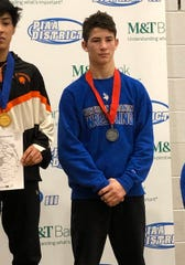 Brandon  Breidegan of Northern Lebanon, with his district silver medal, is headed to the PIAA State Championships next week.