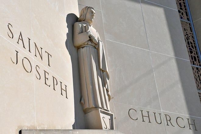 St. Joseph's Roman Catholic Church is shown in Dallastown, Saturday, Feb. 22, 2020.Dawn J. Sagert photo
