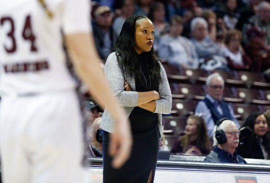 The Missouri State Lady Bears beat the Evansville Purple Aces 76-62 at JQH Arena on Friday, Feb. 21, 2020.