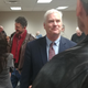 Congressman Tom Emmer visits with constituents at Foley City Hall following a town hall on Friday, Feb. 21, 2020.