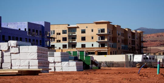 Construction continues to boom in Washington City Friday, Feb. 21, 2020.