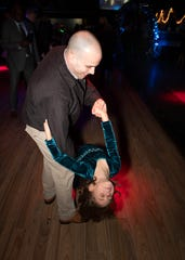 Northside Rotary club's Daddy Daughter Dance was held Feb. 1.
