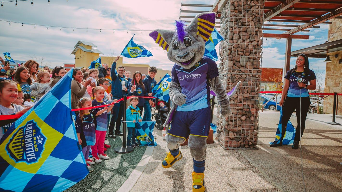 El Paso Locomotive FC Introduces Official Mascot, Ozzy