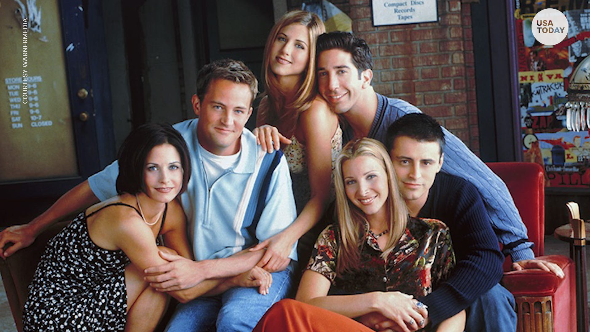 The break is over! A  Friends  reunion is officially happening with HBO Max special