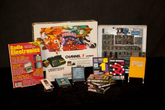 Some of the artifacts relating to the career of Jerry Lawson, who oversaw the creation of Fairchild Camera and Instrument Corp.'s Channel F home video game system, the first to use interchangeable game cartridges