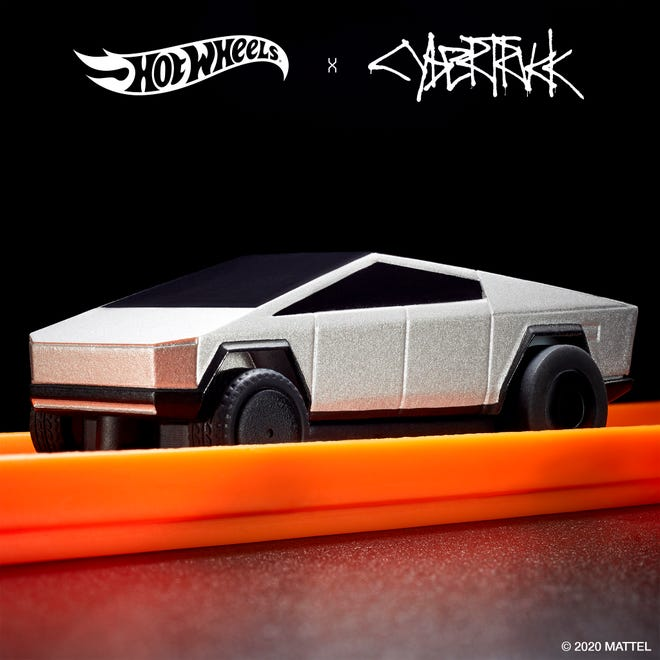Tesla Cybertruck Hot Wheels One Of New Mattel Toys Already Sold Out