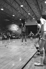 The Chillicothe Cavaliers went 20 for 30 at the line as they defeated the Thornville-Sheridan Generals in the Class AA sectional in February 1970.