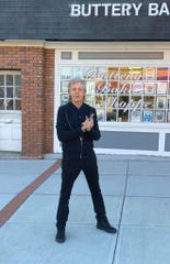On Sunday, Sir Paul McCartney, was spotted just standing there in front of the Buttery Bake Shoppe on MainStreet in Metuchen.
