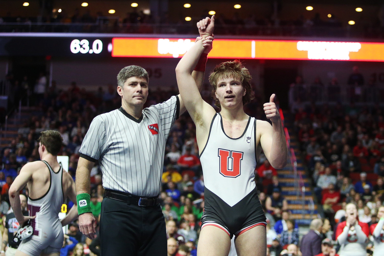 Adam Champ wrestling: union state champ adam ahrendsen commits to