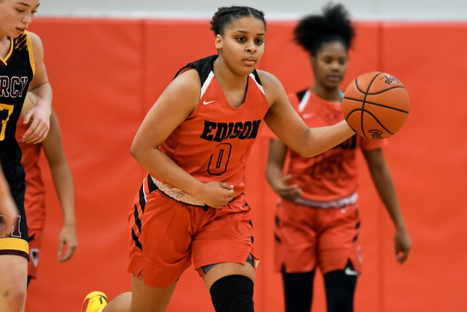 Damiya Hagemann and Detroit Edison are ranked No. 1 in the state by The Detroit News.