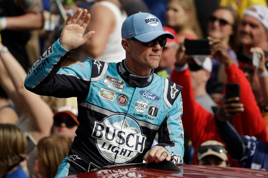 Kevin Harvick adds a little drama by offering a $50,000 bounty to any full-time Cup driver who can beat Kyle Busch in one of the four remaining Truck Series races on Busch's schedule.