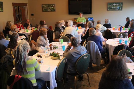 "On Saturday, Schedel hosted its third annual ""Spring Fever Garden Symposium,"" where dozens gathered to learn about a variety of topics as they prepare for the upcoming season."
