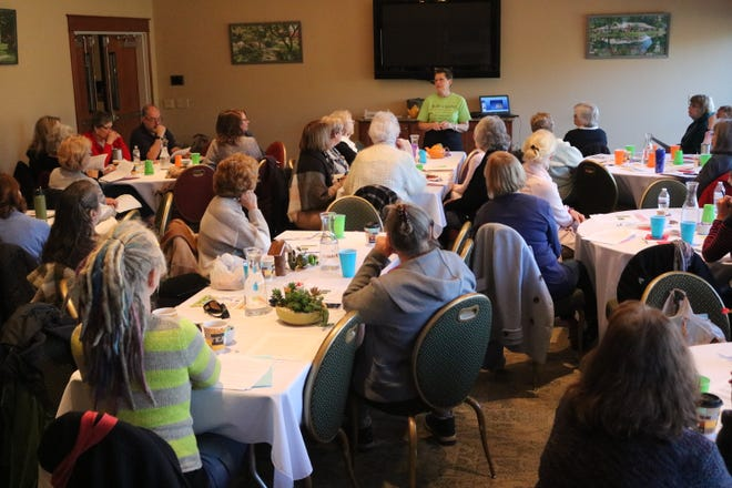"""On Saturday, Schedel hosted its third annual """"Spring Fever Garden Symposium,"""" where dozens gathered to learn about a variety of topics as they prepare for the upcoming season."""