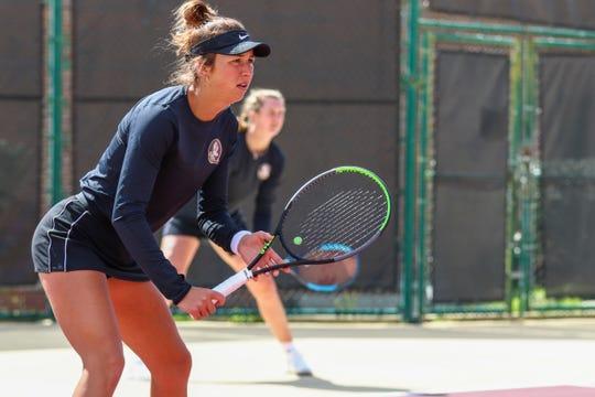 FSU women's tennis will take on FGCU on Feb. 28 in Fort Myers, FL.