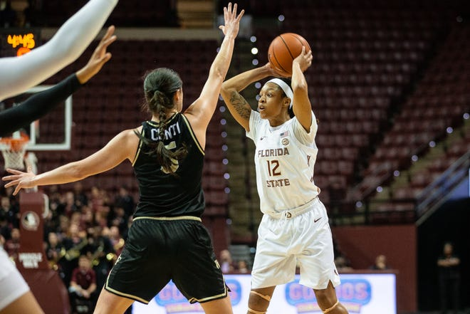 After FSU's win against Wake Forest, Ekhomu is second on the team in points per game with 15.2.