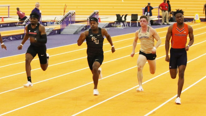Taylor Banks and the 'Noles will take part in the ACC Indoor Track and Field Championships from Feb. 27-29.
