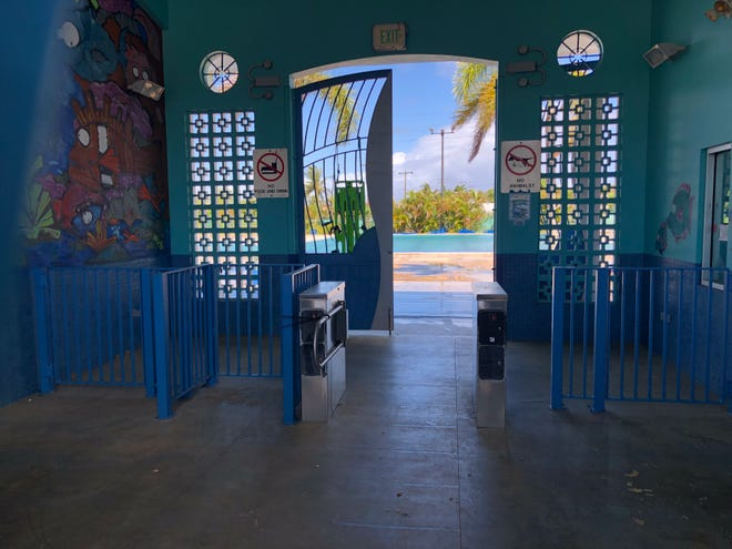 The Dededo pool was closed Sunday, and according to Sen. Régine Biscoe Lee, the pool requires an immediate inspection.