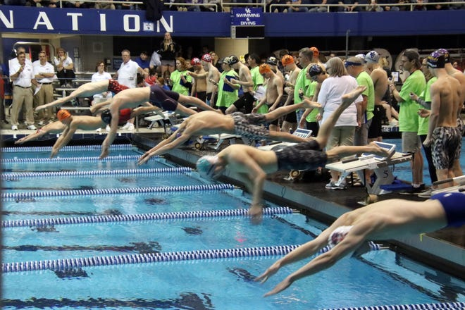 Swim teams from around the state competed in the KHSAA championship in Lexington on Saturday night. 2/22/20