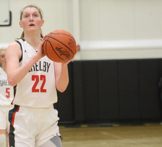 Shelby's Emma Randall was named first-team All-Mansfield News Journal.