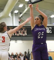 Lexington's Gabby Stover was named first-team All-Mansfield News Journal.
