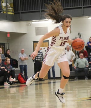 Willard's Cassie Crawford has the Lady Flashes in the district semifinal this week.