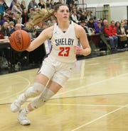 Shelby's Olivia Baker returns for her junior season hoping to continue the Lady Whippets' 26-game conference winning streak.