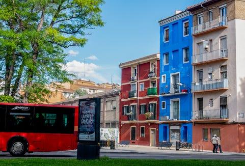 Colorful Zaragoza.