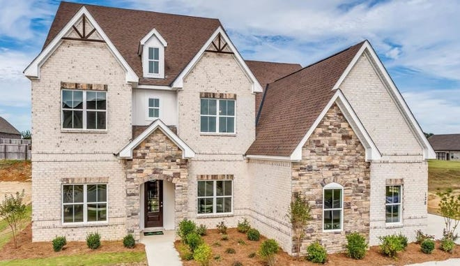 One family-friendly Boykin Lakes home is for sale for $394,934 and includes six bedrooms and four bathrooms within 4,373 square feet of living space. The home was built in 2019.