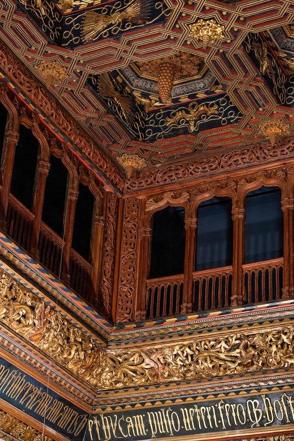 Inside Aljaferia Palace.