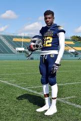 University Prep wide receiver Justin Jackson
