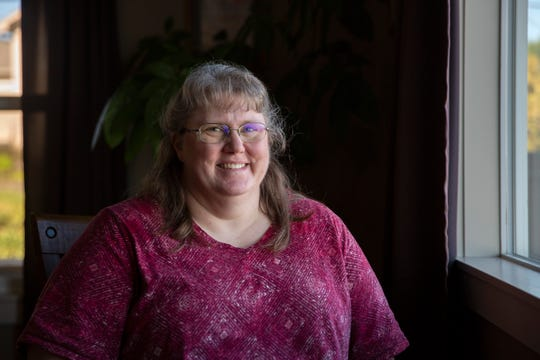 Jennifer Morace poses for a portrait at her home in West Salem on Feb. 21, 2020.