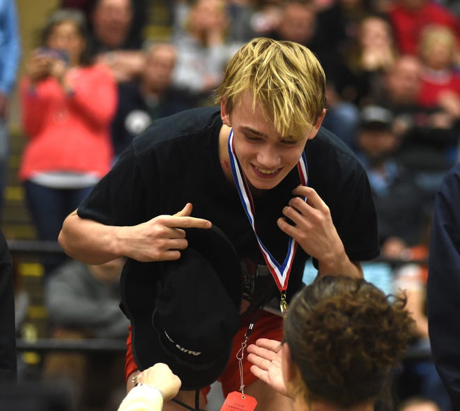 Riverheads' Jude Robson was named the Shenandoah District wrestler of the year.