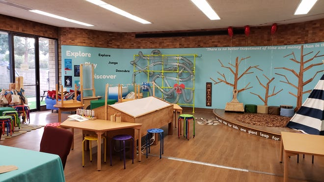 """Camarillo-based kidSTREAM has a """"vision room,"""" which hosts a miniaturized version of what organizers hope the museum will offer. The children's museum is one of two in Ventura County to receive A Community Thrives grant from the Gannett Foundation."""
