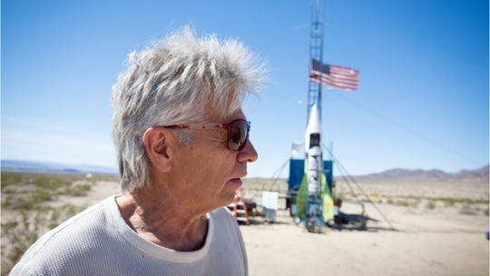 "Daredevil and self-professed flat-earther ""Mad"" Mike Hughes died on Feb. 22 following the crash of his steam-powered rocket near Barstow, Calif."