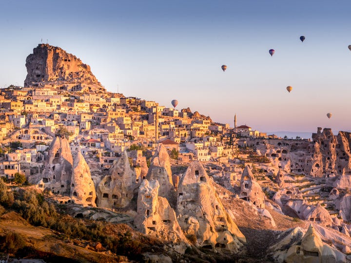Travel booking platform Booking.com announced its list of the Most Welcoming Places on Earth. Destinations were chosen based on Booking.com's Traveler Review Awards. The most welcoming destinations have an above-average amount of properties with exceptional reviews for friendly hospitality, starting with Goreme, Turkey.