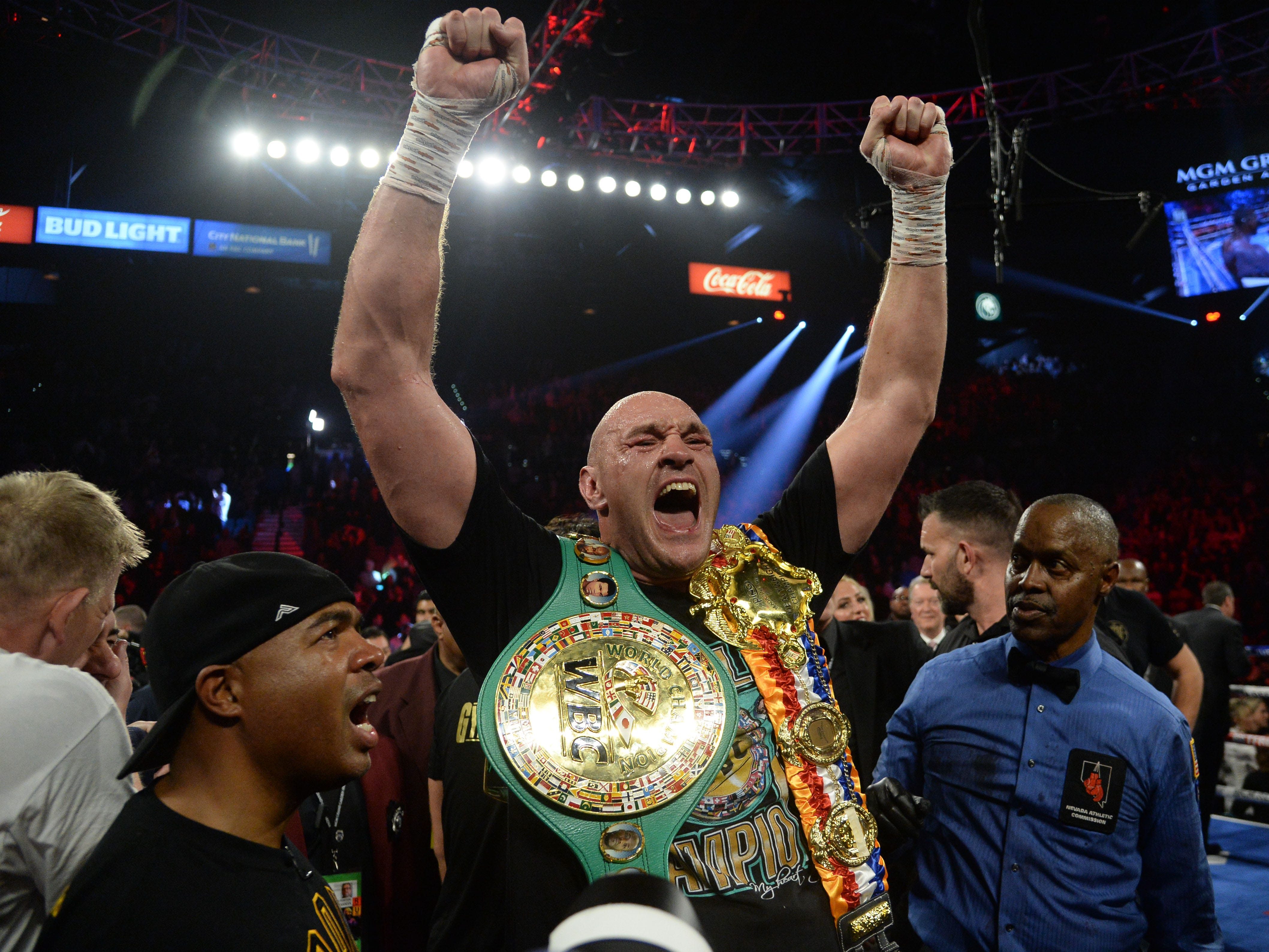 Tyson Fury says he received call to fight Mike Tyson in exhibition bout: 'Hell yeah'