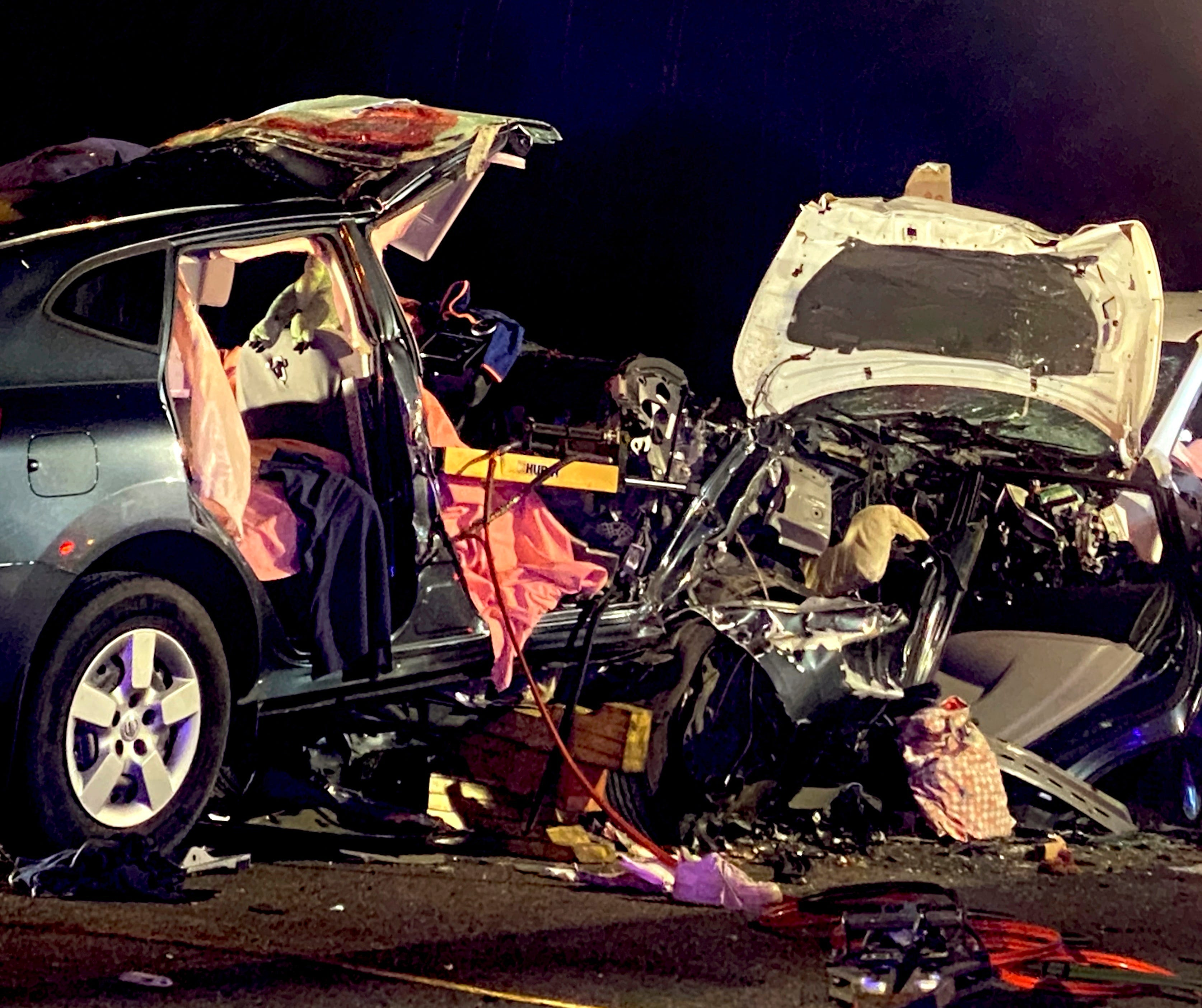 Wrong-way crash on Interstate 95 in Georgia kills 6 people, including Virginia parents and their 3 children