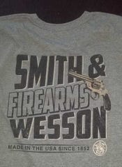 A Neenah middle school student sued his associate principal after he was told he had to cover his Smith & Wesson T-shirt.
