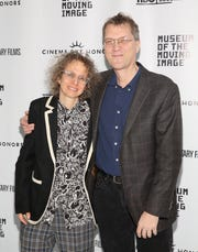 """""""Paris is Burning"""" director  Jennie Livingston and editor Jonathan Oppeheim attend Cinema Eye Honors at Museum of Moving Image on Jan. 7, 2015 in New York City."""