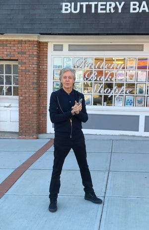 Paul McCartney in Metuchen, New Jersey, on Feb. 23.