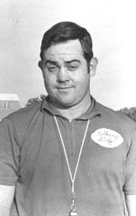 Dewain Finley is pictured in an undated Reporter-News file photo during his time coaching at Albany High School.