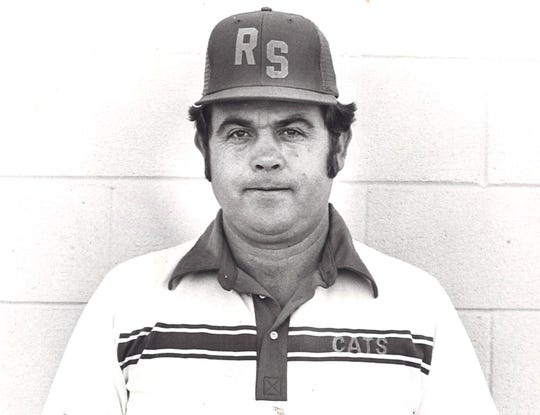 Dewain Finley is pictured in an undated Reporter-News file photo during his time coaching at Rising Star High School.