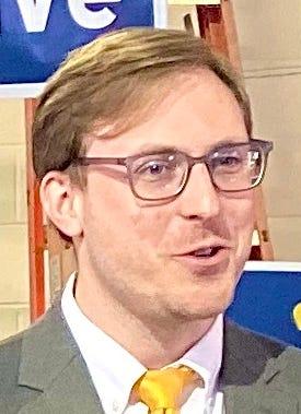Former Broome County Legislator Karl Bernhardsen announced his run forBroome County Executive.