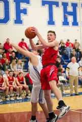 Bucyrus' Lucas Kozinski earned second team All-N10 honors as a senior.