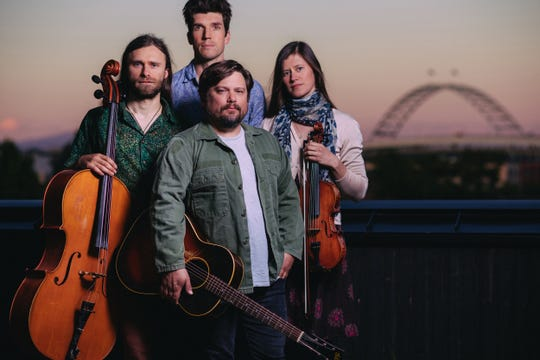 Sean Watkins and the Bee Eaters play the Richmond Congregational Church on Feb. 27.