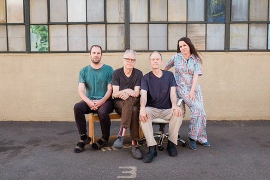 Bill Frisell (second from left) and his Harmony project perform Feb. 27 at ArtsRiot.
